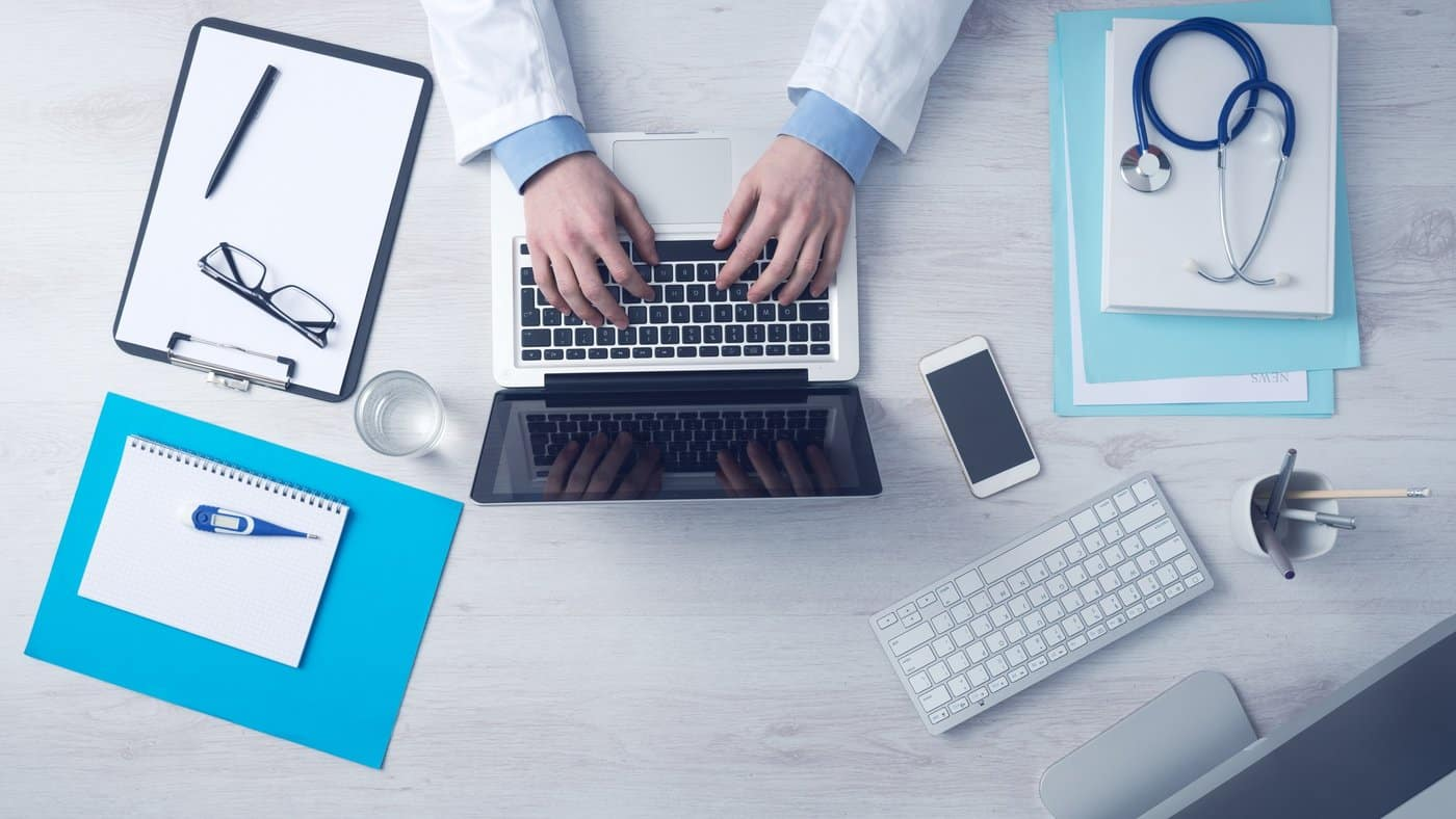 DG CONNECT healthcare access apps wellbeing mHealth eHealth guidelines Commission Computer hands doctor medical hospital