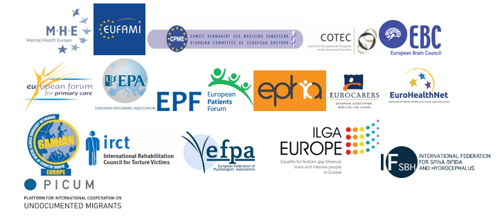 Mental health is everyone's concern: Joint statement by 17 European organisations calling for more action on mental health in Europe