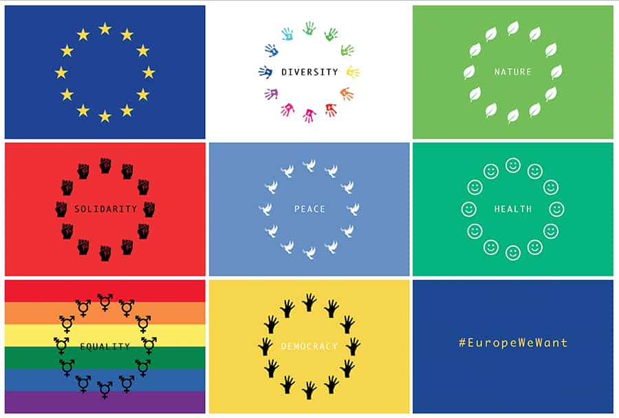 OVER 250 NON-GOVERNMENT ORGANISATIONS LAUNCH ALTERNATIVE VISION FOR EUROPE