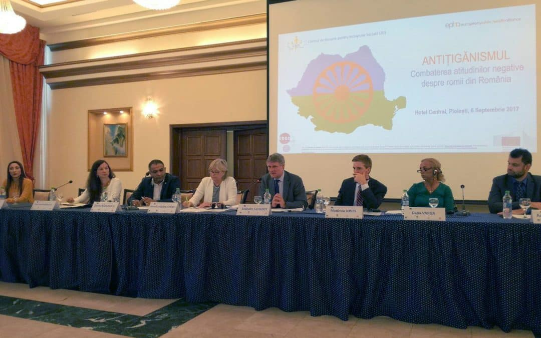 European, national and local policymakers join forces to tackle antigypsyism in Romania