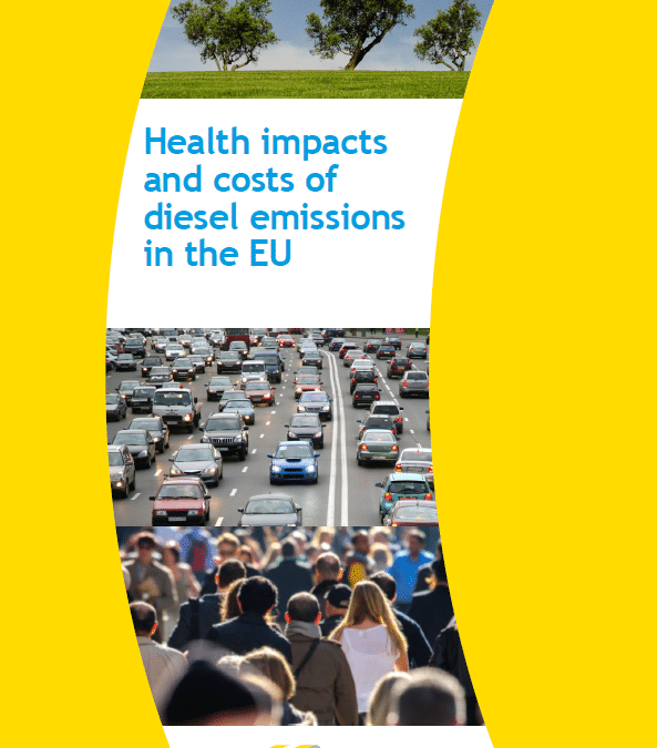 Health impacts and health costs of diesel emissions in the EU