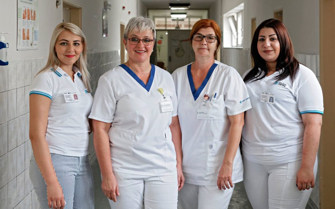 Health mediators in action in Slovak hospitals
