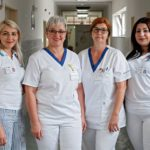 Health awareness raising assistants in action in Slovak hospitals