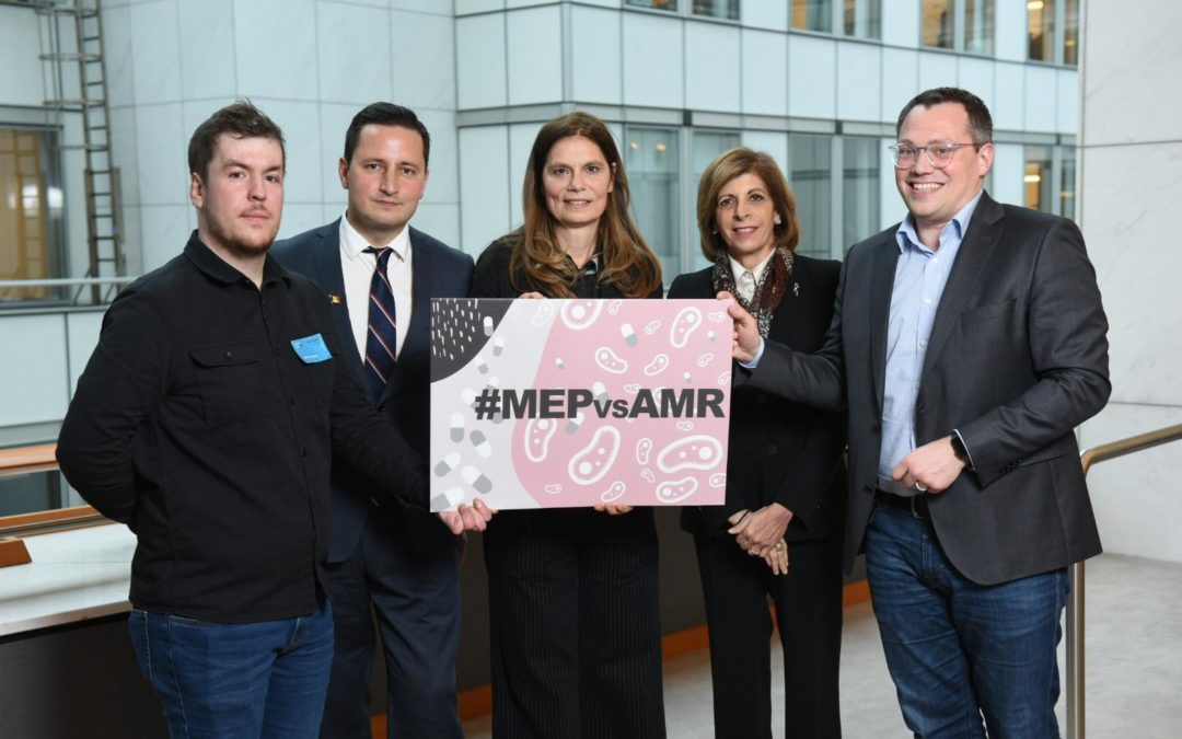 It's all about people – a powerful launch of the new MEP Interest Group on AMR