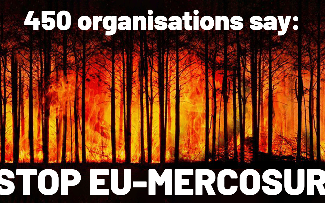 Unhealthy Mercosur should not be ratified!